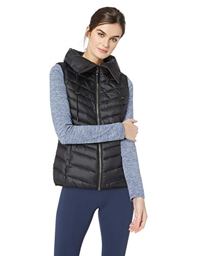 Jack Wolfskin Women's Richmond Vest Down Gilet Puffer Vest, Black, Medium ()