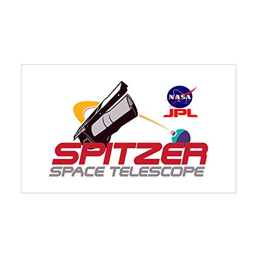 CafePress - Spitzer Space Telescope - Rectangle Bumper Sticker Car Decal (Telescope Space Spitzer)