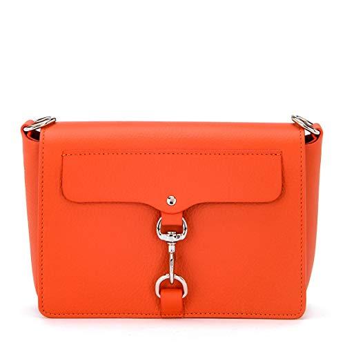 Sac à bandoulière Rebecca Minkoff M.a.b.   En cuir orange