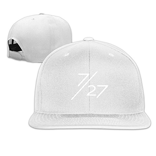 CEDAEI 5 Monsters World Tour Flat Bill Snapback Adjustable Cross-country Cap Hat (Flat Bill Hat Monster)