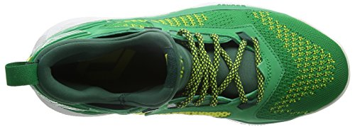 Green collegiate Yellow Basketball green Vert Lillard Homme bright De Chaussures Adidas 2 Pk pfgqxnTv