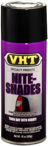VHT (SP999-6 PK Black Nite-Shade Lens Tint - 10 oz. Aerosol, (Case of 6) by VHT (Image #1)