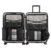 Cloudsky 6 Set/ 7 Set/ 8 Set Packing Cubes, Travel Storage Bags Multifunctional Clothing Sorting Packages, Travel…