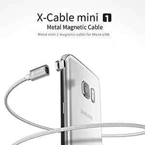 Wsken Mini1& Mini2 USB Cable Magnetic LED Display USB Sync and Fast Charger Cable (Mini1 for Android)