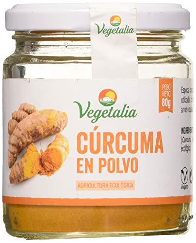 Vegetalia, Cúrcuma en polvo – 80 gr.