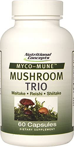 Nutritional Concepts Myco-Mune Mushroom Trio – 60 Capsules