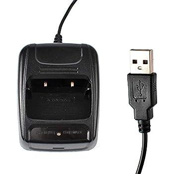 TWAYRDIO Waike Talkie H777 BF-666S BF-777S BF-888s Desktop Charger with USB Plug