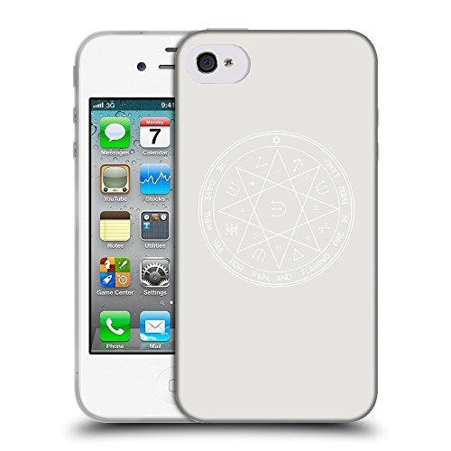 GoGoMobile Coque de Protection TPU Silicone Case pour // Q09610631 Roi solomon 2 Platine // Apple iPhone 4 4S 4G