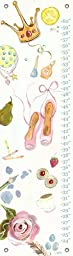Oopsy Daisy Growth Charts Pretend by Shelly Kennedy, 12 by 42-Inch