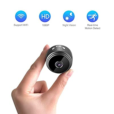 EFB Solutions Spy Camera Wireless Hidden WiFi Mini Spy Cam 1080P Full HD Nest Camera Indoor for iPhone Android Mac PC from Bross Tekstil San. Ve Tic. A. S.