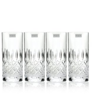 (Royal Doulton Highclere Glasses Set-Highballs-Set of 4)