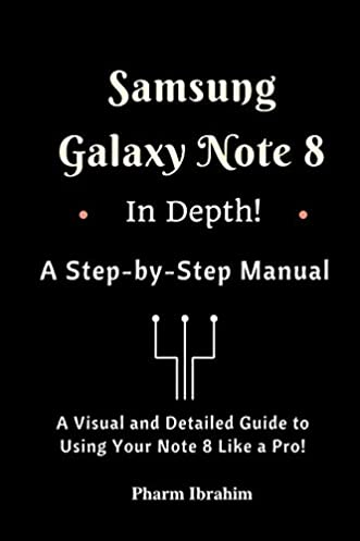 amazon com samsung galaxy note 8 in depth a step by step manual rh amazon com What Would You Like Would You Like Some Worksheet