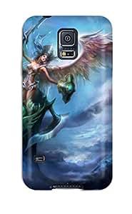 Nafeesa J. Hopkins's Shop Hot Galaxy S5 Angel Warrior Print High Quality Tpu Gel Frame Case Cover