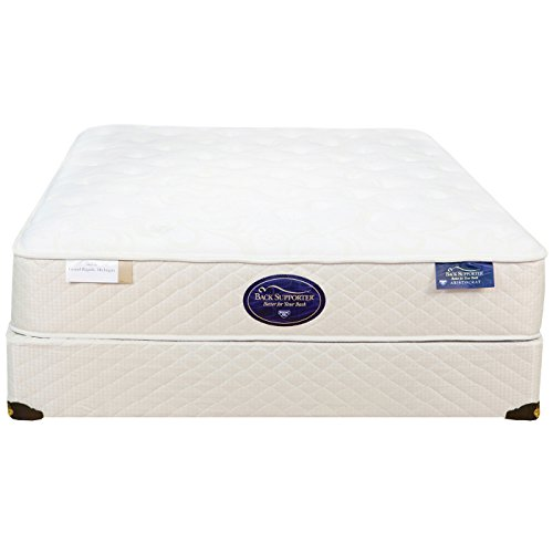 Spring Air Twin Back Supporter Latex Aristocrat Firm Mattress