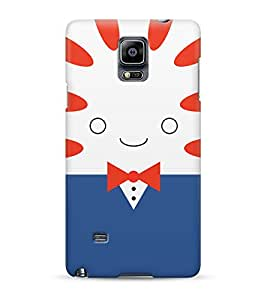 Adventure Time Peppermint Butler Face Hard Plastic Snap On Back Case Cover For Samsung Galaxy Note 4 Carcasa