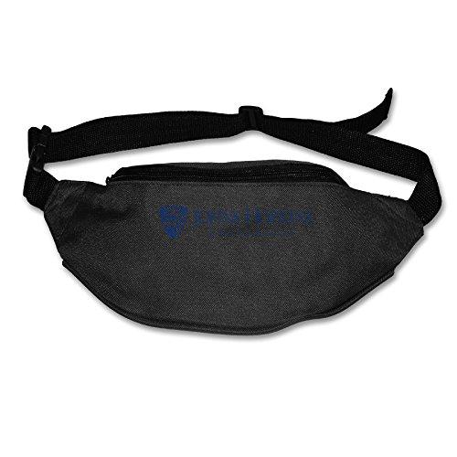 [XJBD Men's&Women's Waist Pack Johns Hopkins JHU University Gym Bag Black] (John Smith Costume Vest)