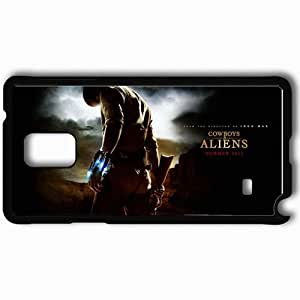 Personalized Samsung Note 4 Cell phone Case/Cover Skin 2011 cowboys and aliens movies Black