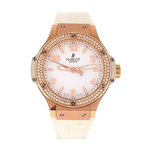 Hublot Big Bang analog-quartz womens Watch 361.PE.2010.RW.1104 (Certified Pre-owned)