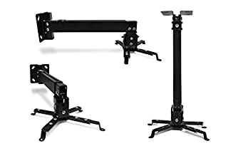Universal Home Theater Projector Ceiling Mount with Adjustable Tilt and Swivel Arm (P-Mount-BL) (B002VC6GM6) | Amazon price tracker / tracking, Amazon price history charts, Amazon price watches, Amazon price drop alerts