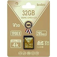 Amplim 32GB UHS-II SDHC SD Card Blazing Fast Read 285MB/S...