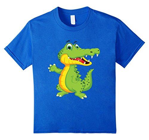 Kids Kids Hero Unisex Toddler Kids Animal crocodile 4 Royal Blue (Toddler Crocodile Costume)