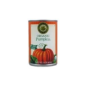 Farmer's Market Organic Pumpkin, 2 (15oz.) Cans