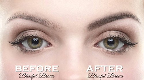 Blissful Brows By Hairgenics One Step Long Lasting Tinted Eyebrow Gel Infused With Fibers For Thick And Full Brows