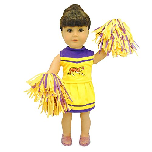 Pink Butterfly Closet Doll Clothes - Cheerleading