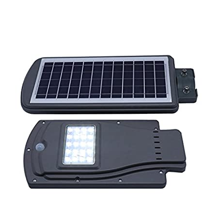 Quace Waterproof Solar Street Light LED Radar Sensor Lamp - German Technology - 10W