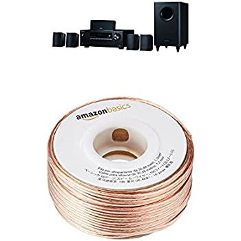 Onkyo HT-S3800 5.1 Channel Home Theater Package with AmazonBasics 16-Gauge Speaker Wire