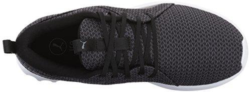 Quiet Shade Sneaker Puma Femmes Puma 2 Knit Black Carson Pour ypTcwcSYUq