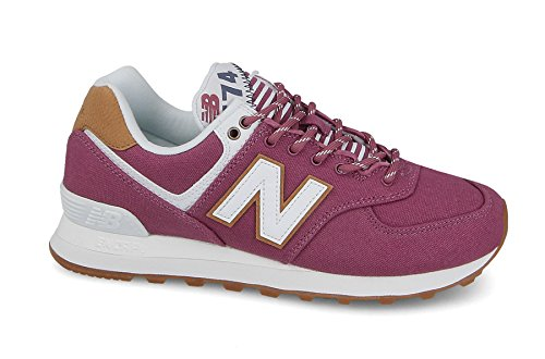 New Balance Wl574v2 Yatch Pack, Sneaker Donna Rosa (Dragon Fruit)