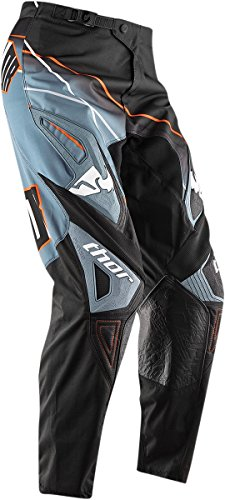 Thor Motocross Phase Prism Adult MX Pants - Steel Size 32 ()