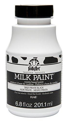 (FolkArt Milk Paint in Assorted Colors (6.8 oz), 38921 Pirate Black)