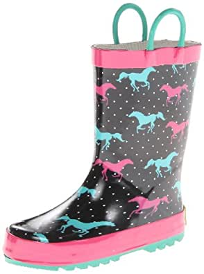 Amazon.com | Western Chief Horse Sprint Rain Boot (Toddler