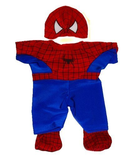 Spider Teddy Bear Outfit clothes fit 15 Build A Bear by Teddy - Teddy Spider