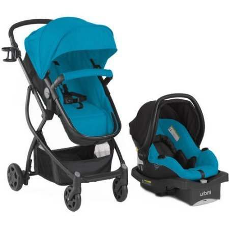 Urbini Omni Plus Travel System Teal ()