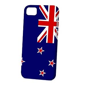 LJF phone case Case Fun Apple iPhone 5C Case - Vogue Version - 3D Full Wrap - Flag of New Zealand