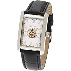 Men's Stainless Steel Bulova Freemason Masonic Past Master Watch