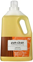 Zum Clean Laundry Soap All Natural Made from Coconut Oil Fresh Patchouli Scent Clean your laundry with a handmade laundry soap that does not contain chemicals. Made of coconut oil soap for cleaning and pure essential oils for an all-natural s...