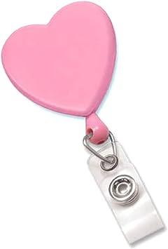 Nursing is a Work of Heart Badge Holder with Swivel Clip  Cute Nurse Badge  ID holder Retractable Badge Reel