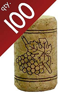 "#9 Straight Corks 15/16"""" x 1 1/2"". Bag of 100"