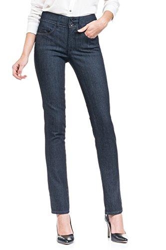 SALSA Jeans Push In Secret con denim muy oscuro y pierna pitillo