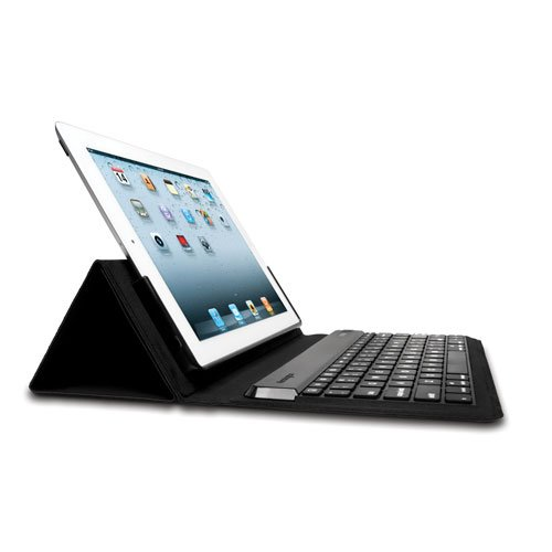Kensington KeyFolio Expert Multi-Angle Folio and Bluetooth Keyboard Case For iPad 4 with Retina Display and iPad 3   (K39531US)