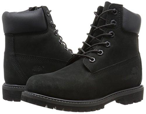 Premium Montantes Femme black Timberland Chaussures Boot Noir 6