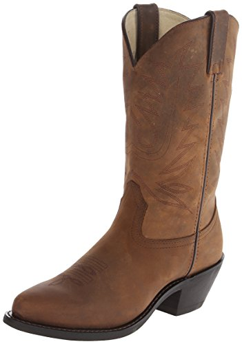 Boot Women's RD4112 11 Leather Boots,Tan Distress Leather,8