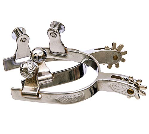 Engraved Band Youth Spur