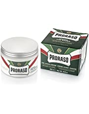 Proraso Refreshing and Toning Pre-Shave Cream with Eucalyptus Oil and Menthol by Proraso for Men - 10.1, 300 ml