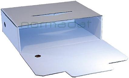 Caja de archivo definitivo folio prolongado: Amazon.es: Oficina y papelería