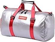 Pu Fitness Sports Bag Leisure Travel Bag one Shoulder Waterproof Bag Large Capacity Independent Shoe Yoga Bag
